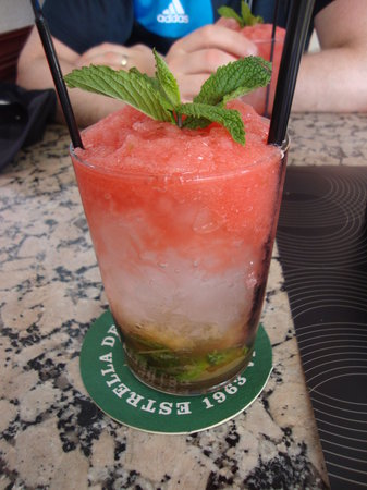 Cafe 34: watermelon mojito