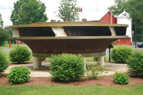 New York Power Authority Blenheim-Gilboa Visitors Center/Lansing Manor: Turnbine Runner Removed in 2009, 20 Foot Diameter