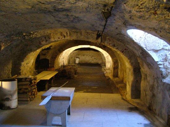 Fort de Bellegarde : forni per il pane