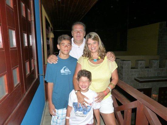 Hotel Village Le Canton: Familia reunida para celebrar o novo ano 2012/13