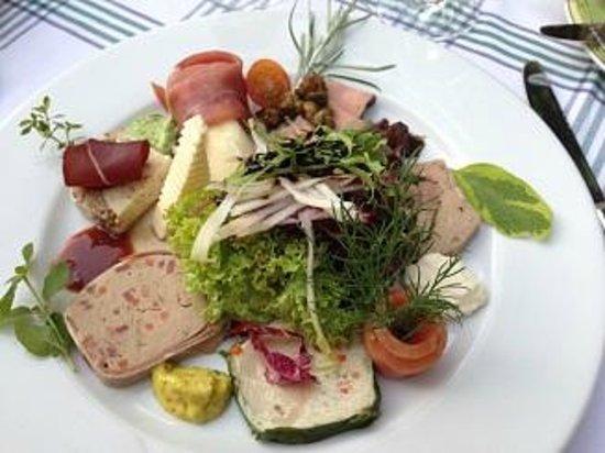 Schwab's Restaurant: Vorspeisenteller