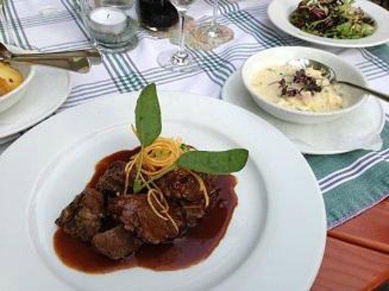 Schwab's Restaurant: Ochsenbäckchen