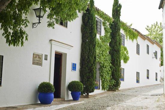 Hotel Alavera de los Banos : Hotel entrance