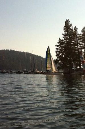 Huntington Lake, Californien: july 2013