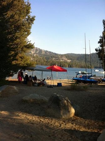Huntington Lake, Калифорния: fun 4th 2013