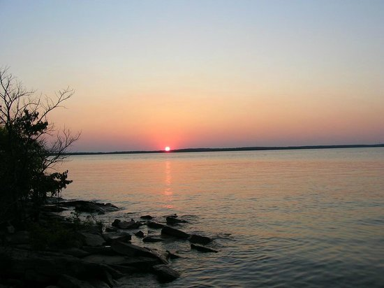Ray Roberts Lake State Park : Great sunsets