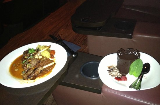 CineBistro at Hyde Park Village: Lamb Entree, Dessert Delivered Same Time