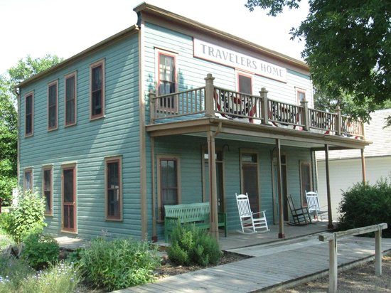Stuhr Museum of the Prairie Pioneer: Traveler's Rest Hotel