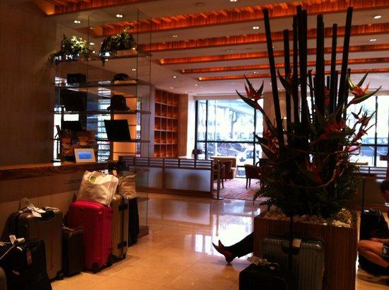 Gloucester Luk Kwok Hong Kong: recepção do hotel