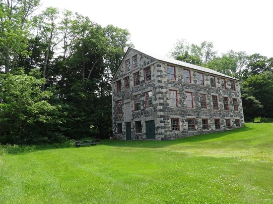 Enfield Shaker Museum: Old Stone Mill