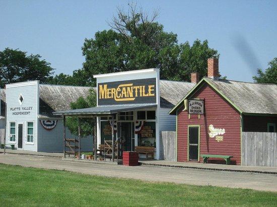 Stuhr Museum of the Prairie Pioneer: Main Street Railraod Town