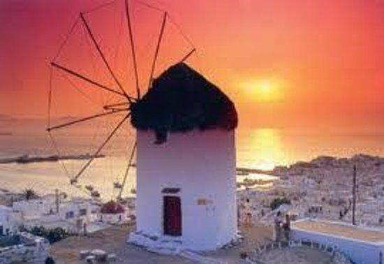 Le Moulin de Mykonos: Le vrai MOULIN DE MYKONOS