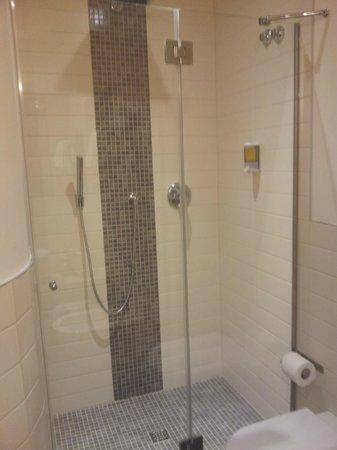 Albergo Aquila: La doccia