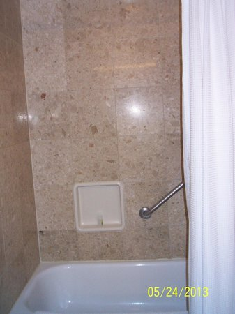 The Mirage Hotel & Casino: The shower