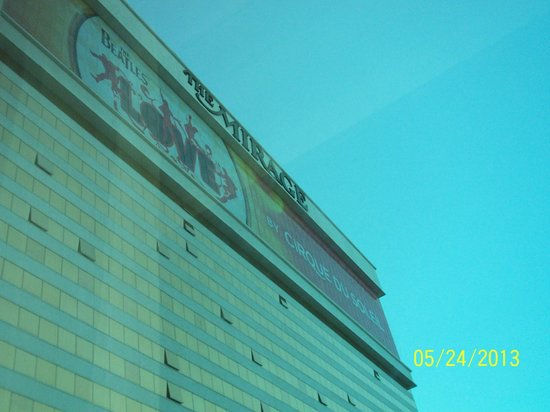 The Mirage Hotel & Casino: View from my window