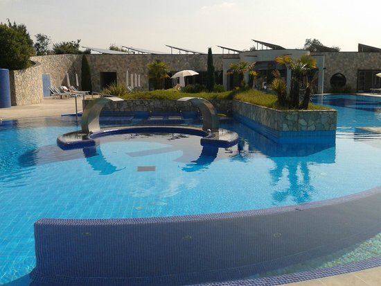 Hotel Sollievo Terme: Cascate cervicali