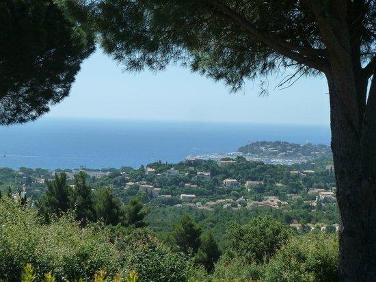 Villa Port Sud: Vue depuis la piscine