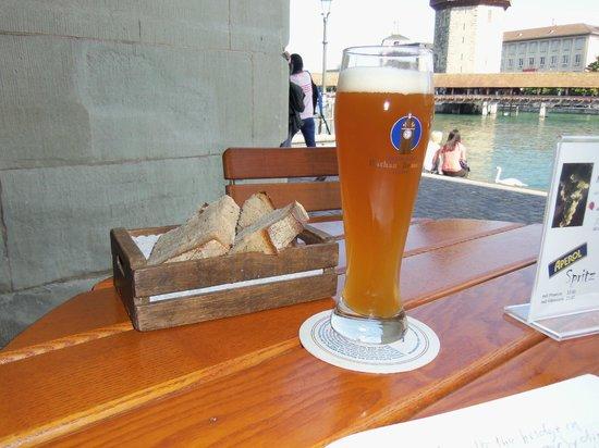 Restaurant Rathaus Brauerei Luzern: what a beer!!!