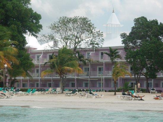 Hotel Riu Palace Tropical Bay : beach view