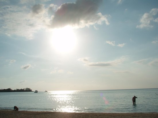 Hotel Riu Palace Tropical Bay : The sunset