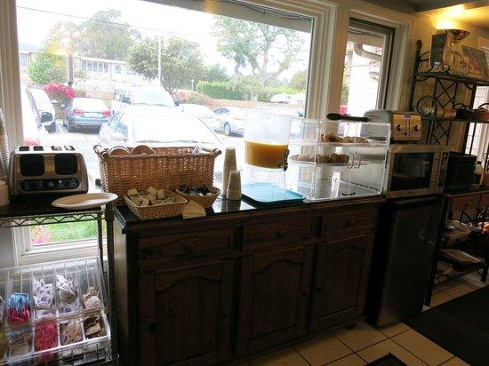 Colton Inn: Frühstücksraum