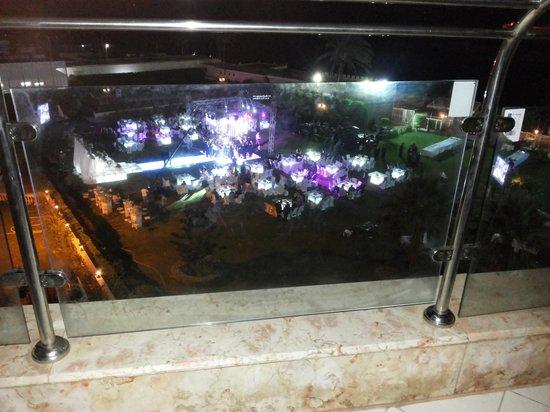 Helnan Palestine Hotel : منظر الفرح تحت الغرفة فى حديقة الفندق