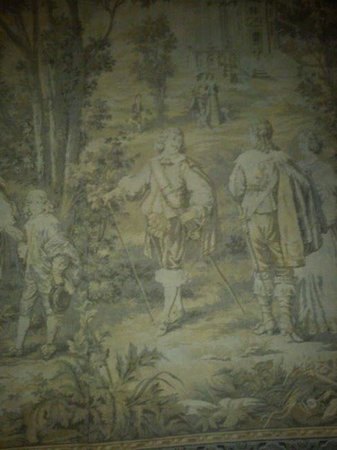 Prince Regent Hotel: An original tapestry from the 1820's