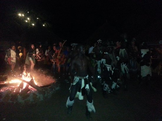 Pan Zam Tourism Project Development Limited - Elephant Oasis Bush Dinners : join in the ngoni tribal dance