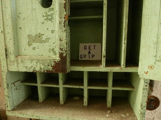 Eastern State Penitentiary: Sound advice from a cupboard