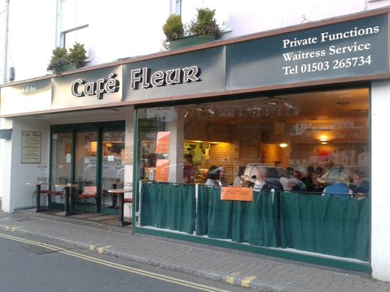 Fleur Cafe: A great place to watch the world go by - with indoor and outdoor seating.