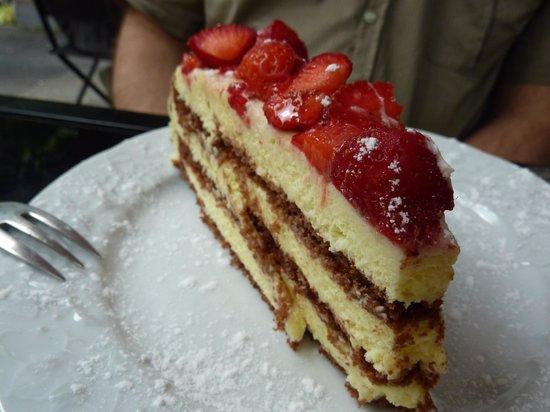 Giallo Limone : gâteau fraises
