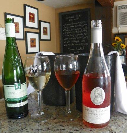 Bridge Street Bistrot & Wine Bar : Summer wines