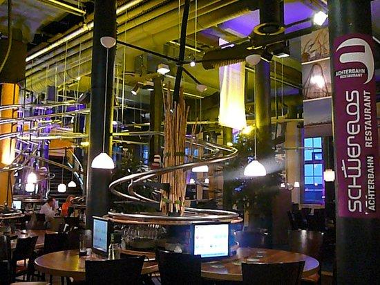 Rollercoaster Restaurant Hamburg: Restaurant