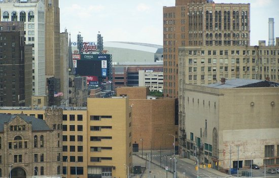 MGM Grand Detroit: View of Ford Theatre from my room