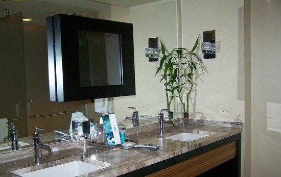 MGM Grand Detroit: Bathroom view