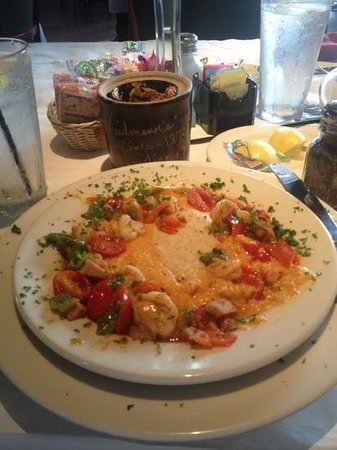 Weidmann's: Shrimp and grits- excellent!