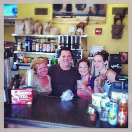 Mokka Coffeehouse : Meeting the friendly staff at Mokka :)