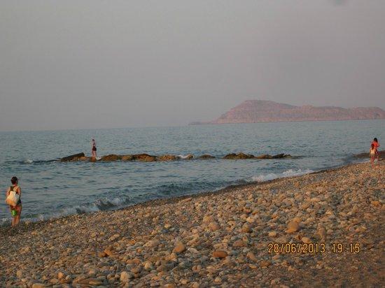 Louis Creta Princess Beach Hotel: stranden