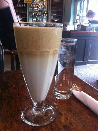 Granola: iced coffee