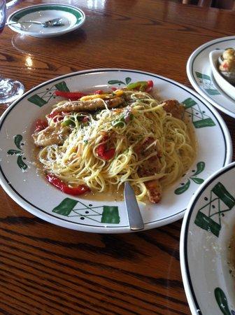 Olive Garden : Chicken linguine