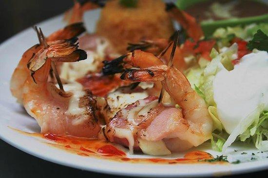 Acapulco's Mexican Restaurant: Mummy shrimp