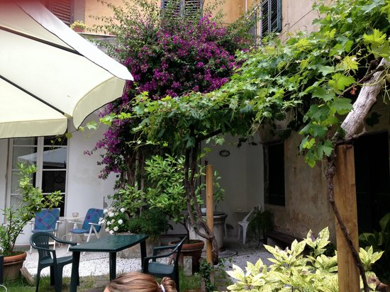 Relais Sassetti Bed and Breakfast: Toller Garten