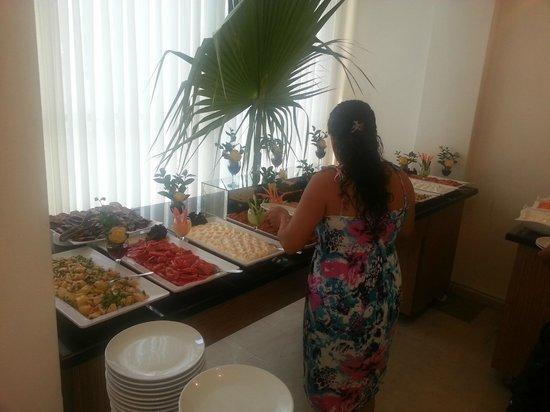 Hotel Letoon: Abendessen