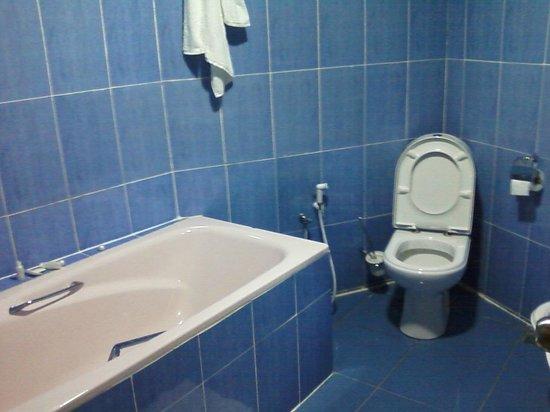 Le Cristal Hotel: salle de bain