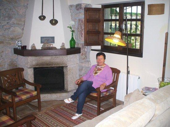 Casa Aspron: Salon de la casa,