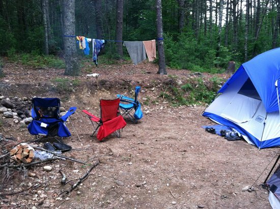 Whispering Pines Campground: camp site
