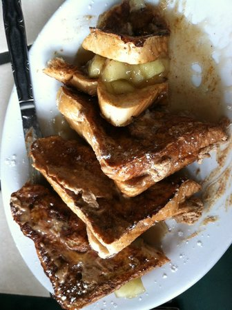 West's Bakery Incorporated: apple cinnamon sugar stuffed french toast