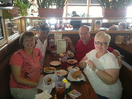 Snuffer's: fantastic burgers cooked perfectly...my first trip and so glad we came