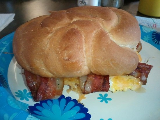 Kamp Dog: Best Breakfast Sandwich Ever