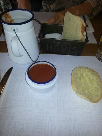 Eat Up: Soup and fresh bread